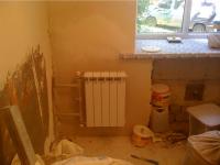 Установка радиатора отопления в частном доме