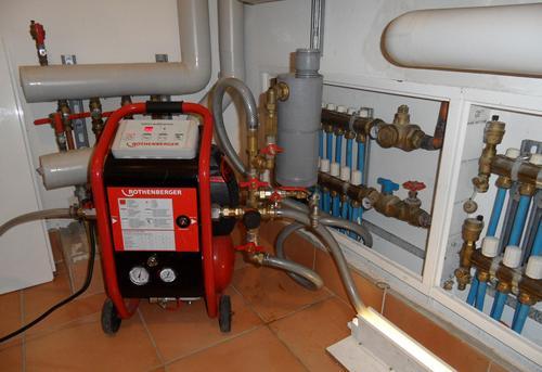Гидродинамическая промывка системы отопления в Одинцово