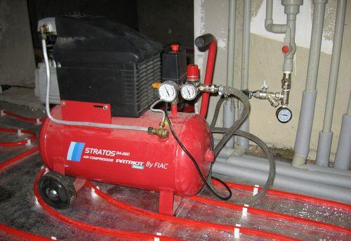 Гидропневматическая промывка системы отопления в Одинцово
