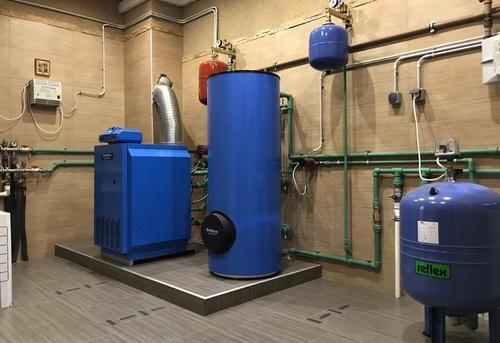 Монтаж автономного отопления в Одинцово