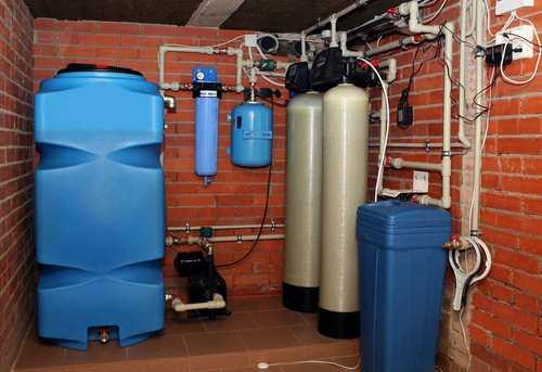 Монтаж автономного водоснабжения в Одинцово