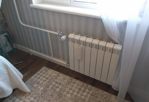 Монтаж батарей отопления с терморегулятором в Одинцово