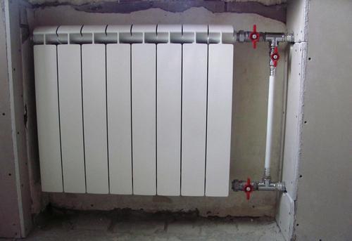 Монтаж батарей отопления с установкой байпаса в Одинцово