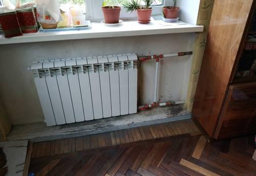Монтаж батарей отопления в частном доме в Одинцово
