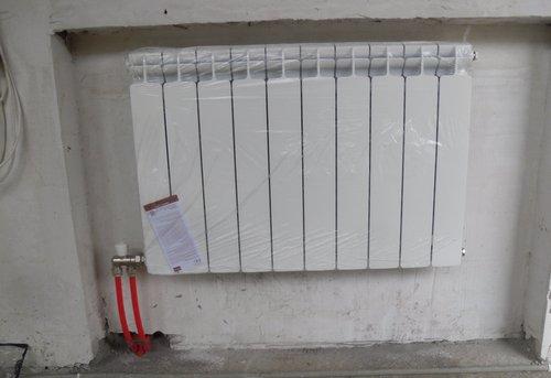 Монтаж батарей отопления в квартире в Одинцово
