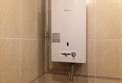 Установка газовой колонки Bosch в Одинцово