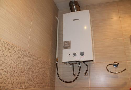 Установка газовой колонки в ванной в Одинцово