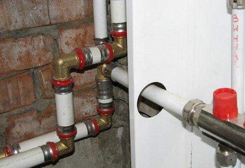 Монтаж металлопластиковых труб отопления в Одинцово
