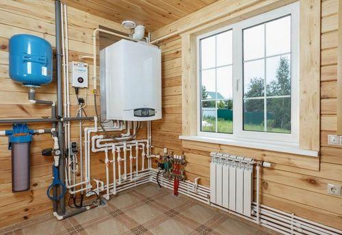 Монтаж отопления в частном доме в Одинцово