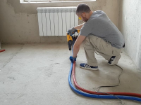 Монтаж системы отопления в квартире