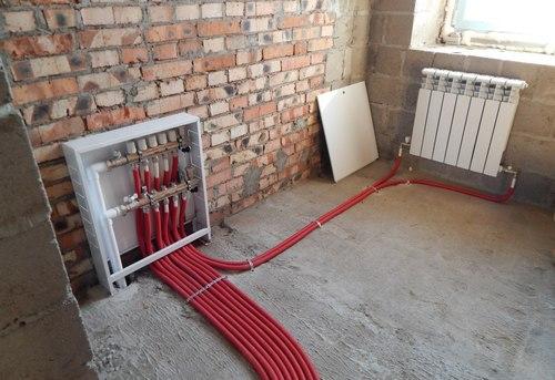 Монтаж отопления в квартире в Одинцово