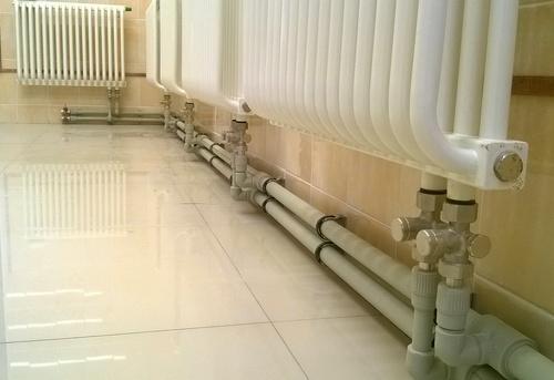 Монтаж полипропиленовых труб отопления в Одинцово