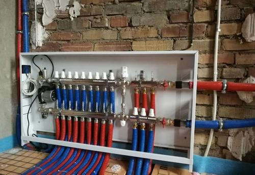 Монтаж труб отопления из сшитого полиэтилена в Одинцово
