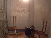 Монтаж горячего водоснабжения