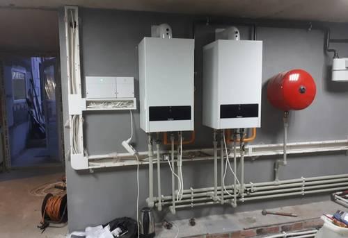 Обвязка двухконтурного котла отопления в Одинцово