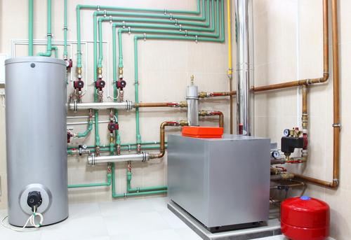 Обвязка напольного котла отопления в Одинцово