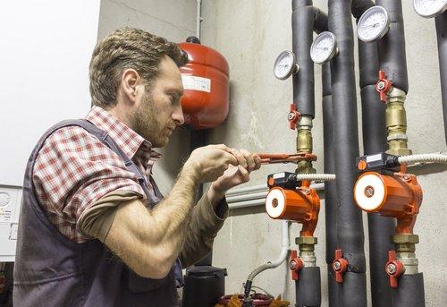 Опрессовка отопления в коттедже в Одинцово