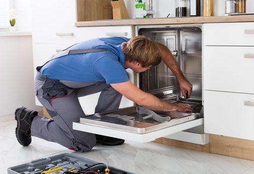 Подключение посудомоечной машины на кухне в Одинцово
