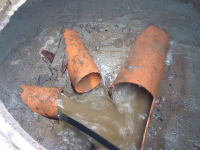 Прочистка главной трубы канализации в частном доме
