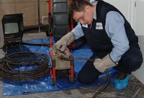 Прочистка канализационных труб в квартире в Одинцово
