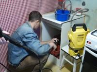 Прочистка труб канализации на даче