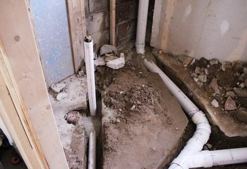 Разводка канализации в частном доме в Одинцово