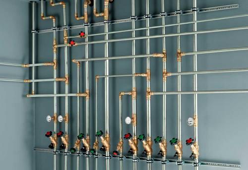Разводка стальных труб в Одинцово