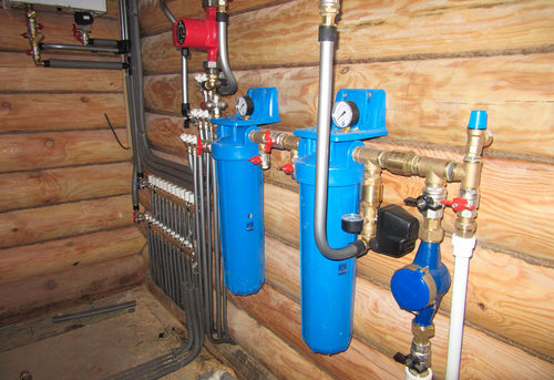 Разводка водоснабжения в частном доме в Одинцово