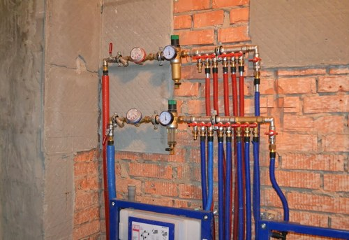 Разводка водоснабжения в квартире в Одинцово