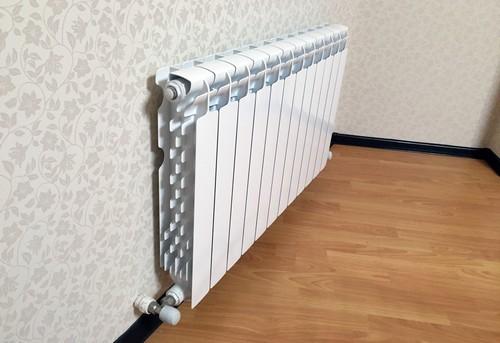 Установка алюминиевого радиатора отопления в Одинцово