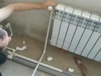 Установка алюминиевых батарей отопления