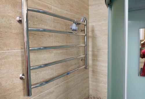 Установка электрического полотенцесушителя в Одинцово