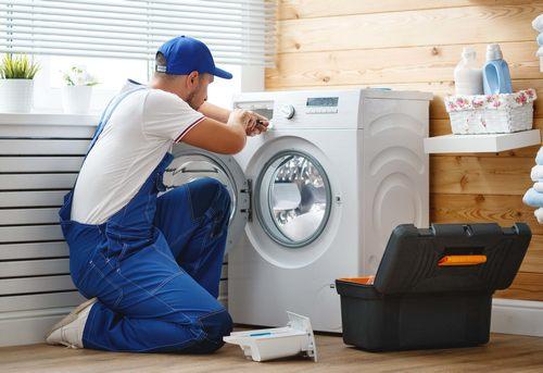 Установка отдельно стоящей стиральной машины в Одинцово