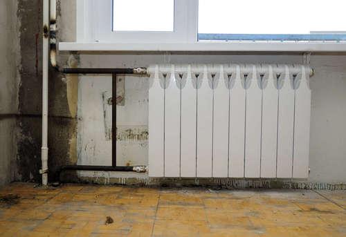 Замена биметаллического радиатора отопления в Одинцово