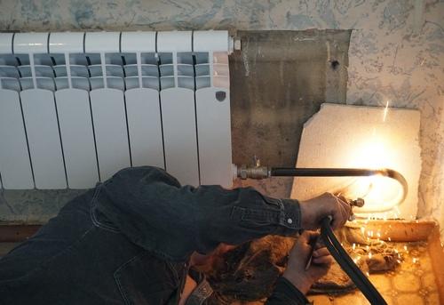 Замена отопительных труб из стали в Одинцово