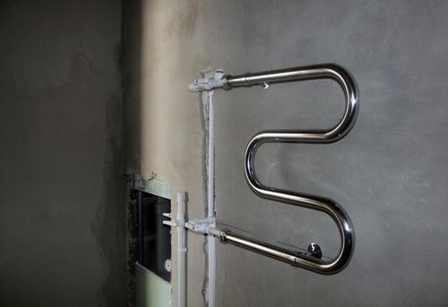 Замена полотенцесушителя с байпасом в Одинцово