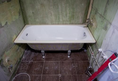 Замена стальной ванны в Одинцово