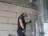 Замена стояка канализации в доме