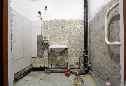 Замена стояка канализации в ванной в Одинцово