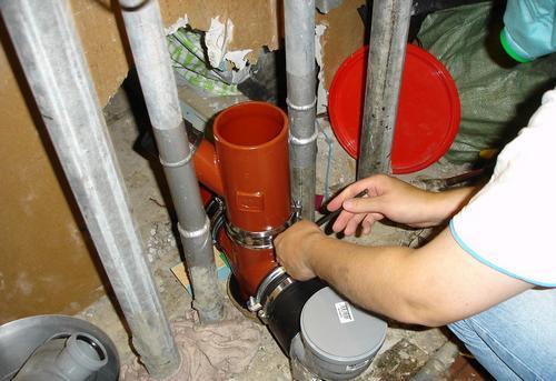 Замена стояка канализации в Одинцово