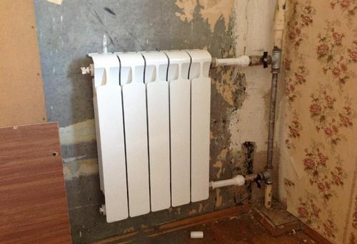 Замена стояка отопления с установкой радиатора отопления в Одинцово