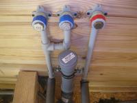 Замена труб горячего водоснабжения