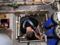 Замена водяного насоса отопления
